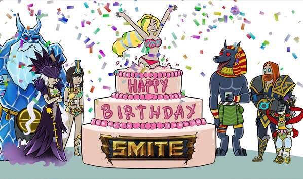 SMITE - anniversary