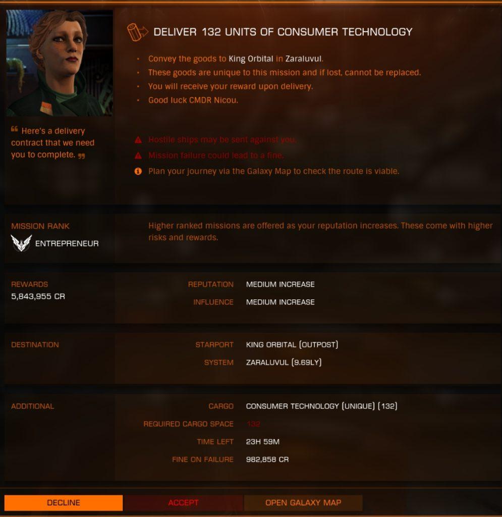 ED - Missions refonte détail