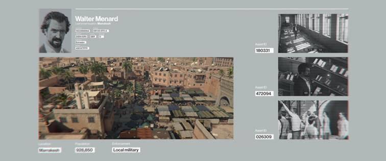 Hitman - Marrakech - cible exclusive ps4