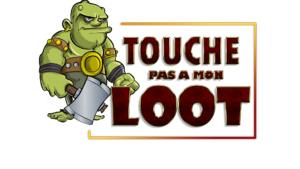 Logo touche pas a mon loot2