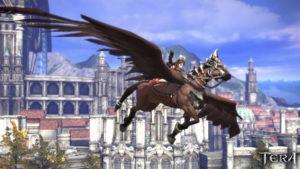 TERA_Flying_Mount_Brown_Horse