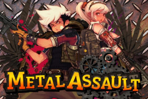 metal assault - Couverture