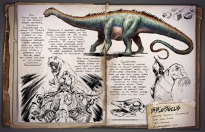 ARK: Survival Evolved DiplodocusInsulaprincep