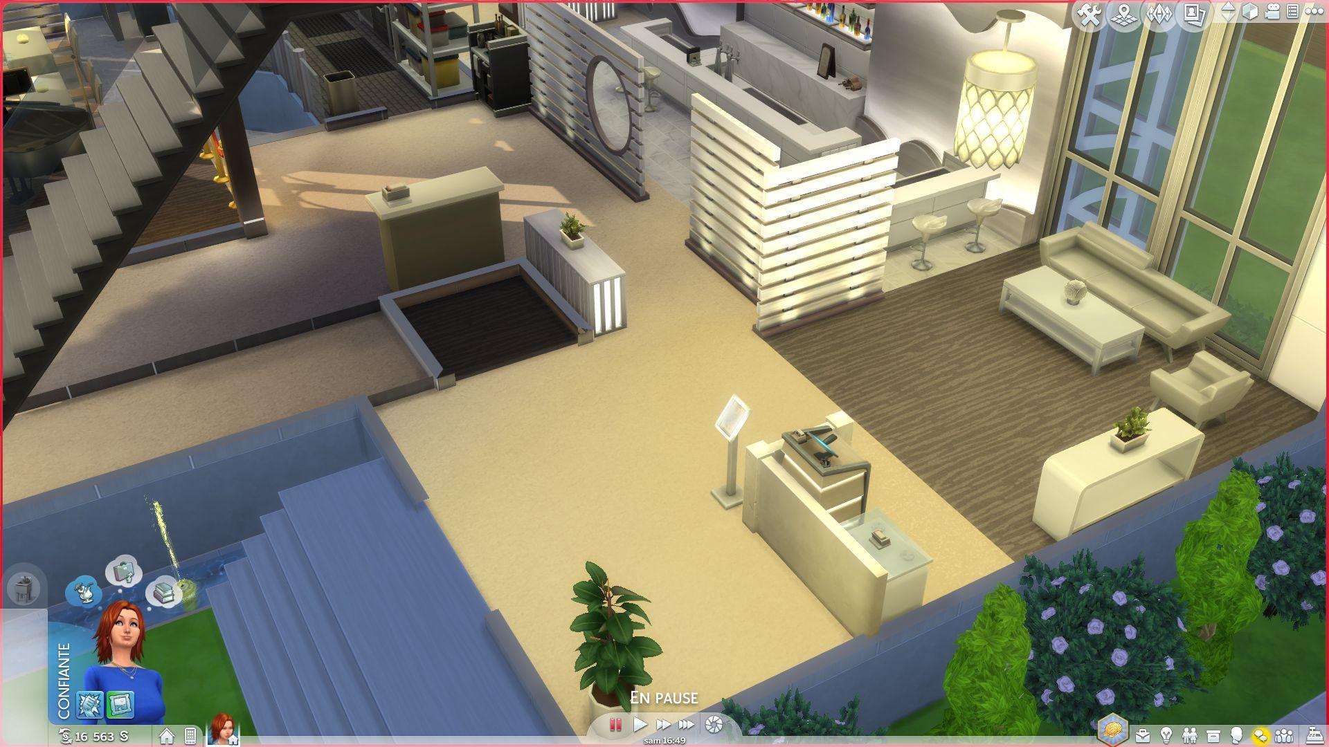 Les sims 4 aper u du pack de jeu au restaurant game Meuble de cuisine sims 4 qui s imbrique