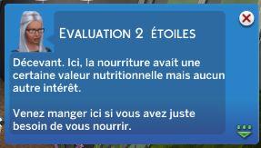 LesSims4_AuRestaurantEvaluationCritique1