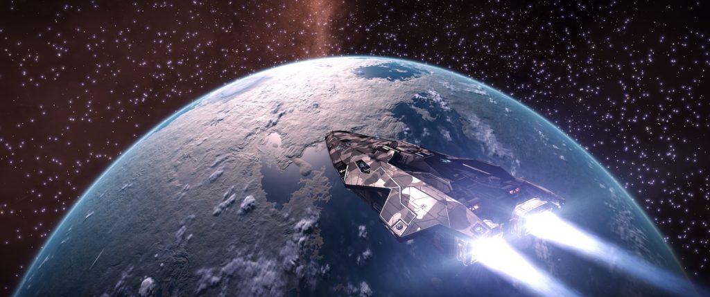 ED - Outpost Anaconda Explo HD Planet