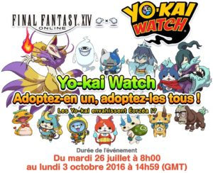 FFXIV - Yo-Kai Watch - Couverture - Logo