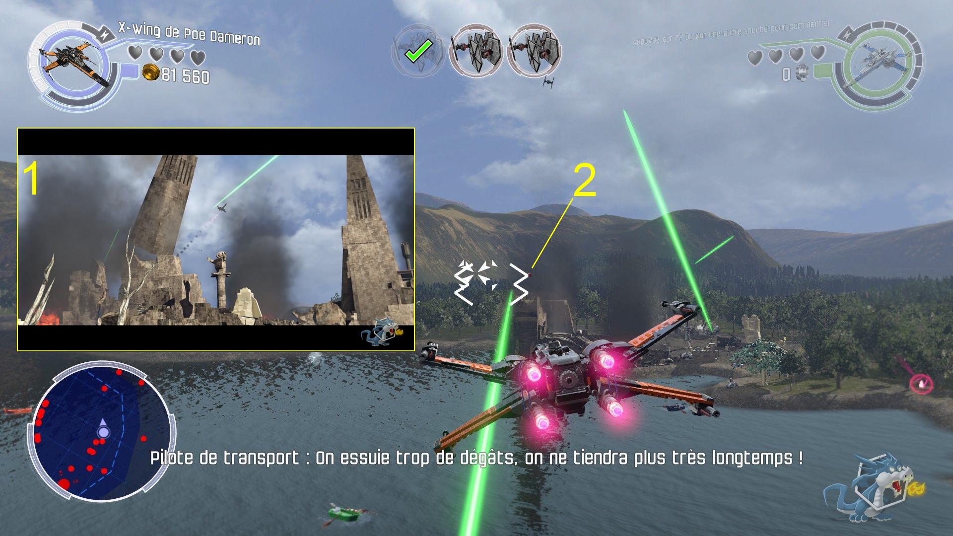 Lego star Wars - Le Réveil de la Force - Bataille de Takodana - Brique rouge