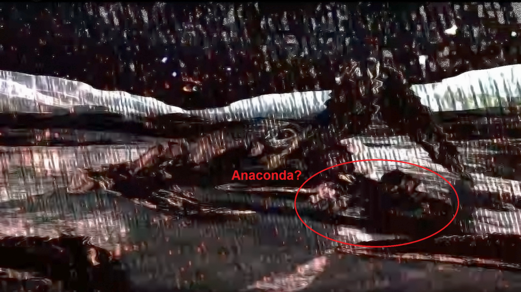 ED - Intrigue vaisseau écrasé Anaconda