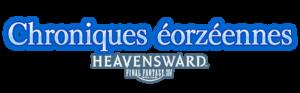 FFXIV - Les Chroniques éorzéennes - Heavensward - couverture - logo