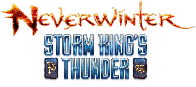 Neverwinter - Storm King's Thunder - Couverture - logo