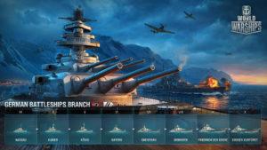 WoWS_German_battleships_Tech_tree