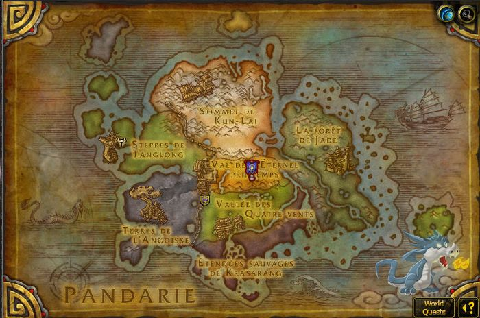 how to make wow maps