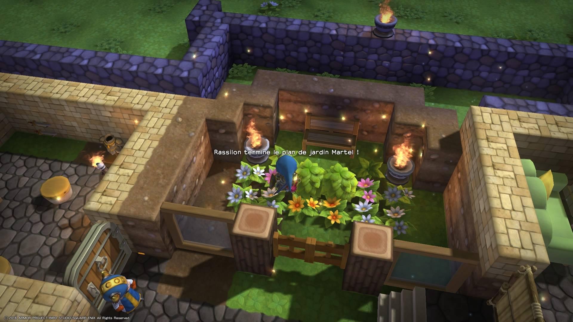 Dragon quest builders salle d'eau chapter 2