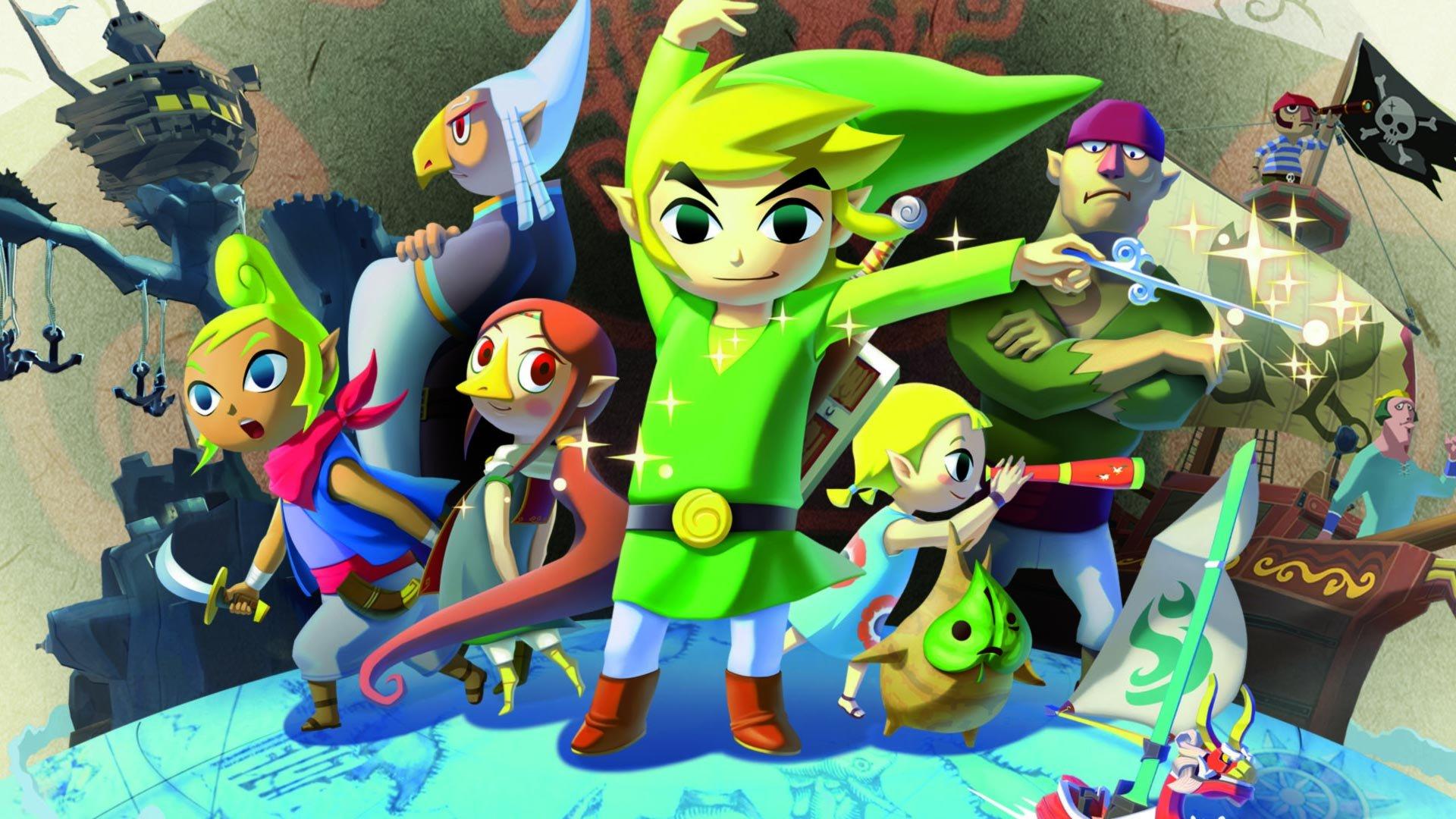 The Legend Of Zelda Lère Du Héros Du Vent Et Du Nouveau Monde