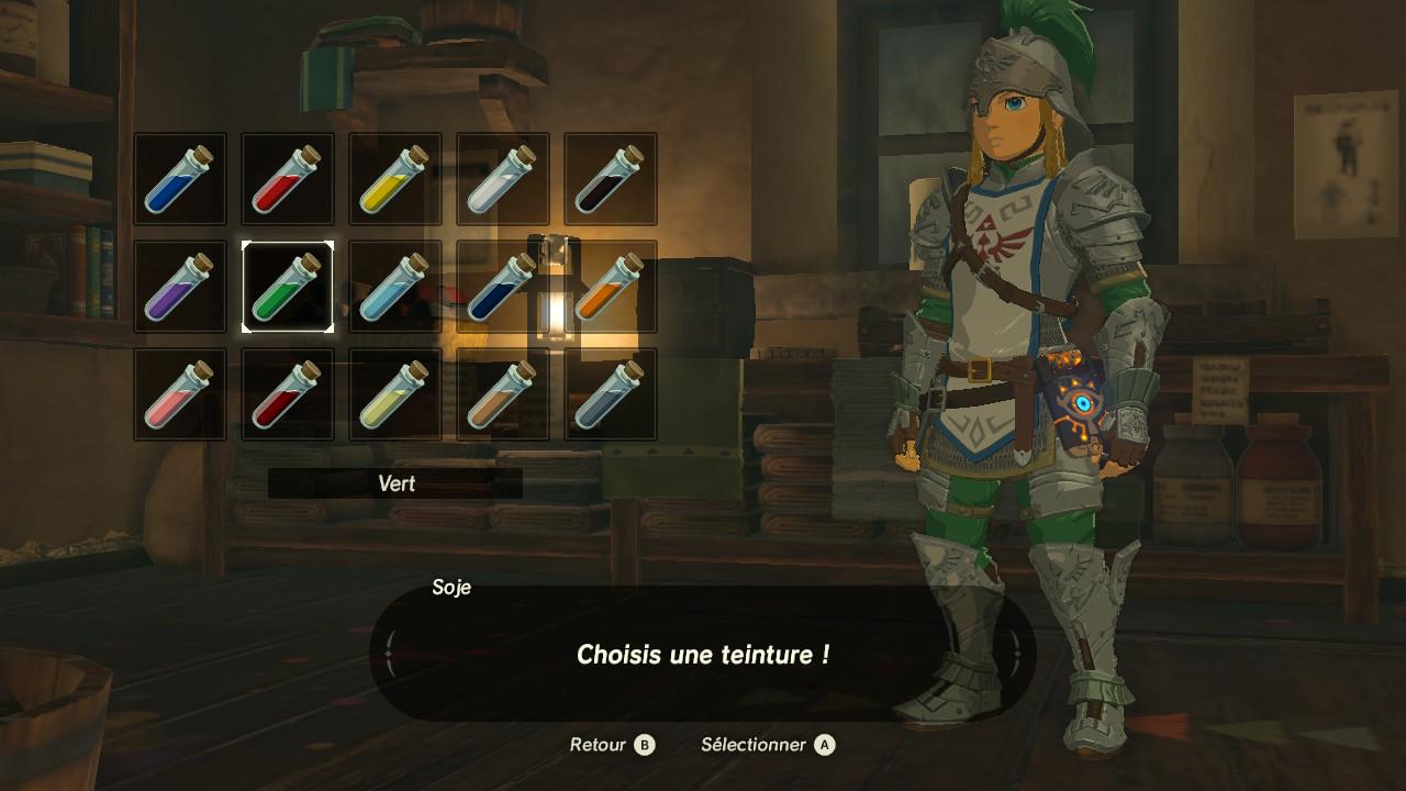 The legend of zelda breath of the wild guide des - Link dans zelda ...