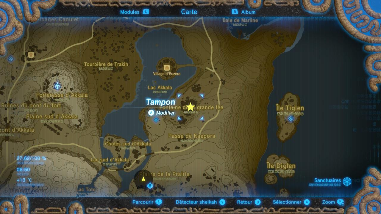 The Legend Of Zelda Breath Of The Wild Guide Des Grandes