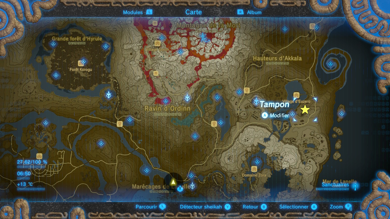 The Legend Of Zelda : Breath Of The Wild - Guide des