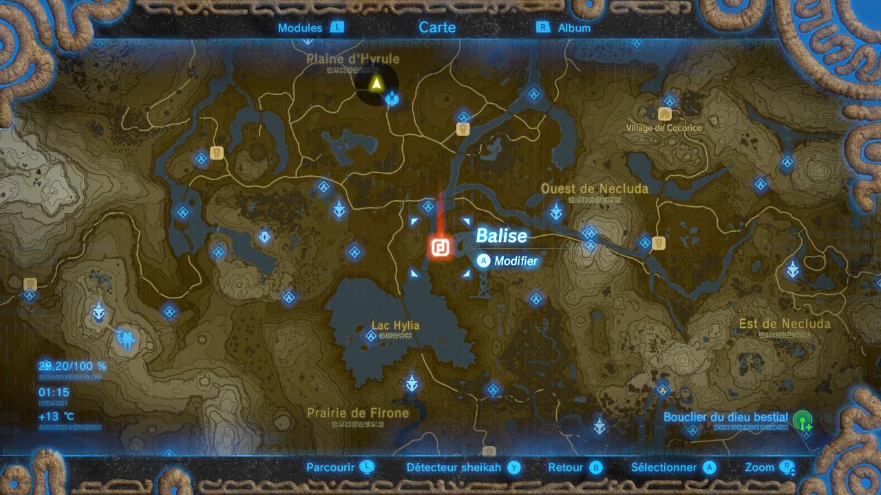 The Legend Of Zelda Breath Of The Wild Guide Des