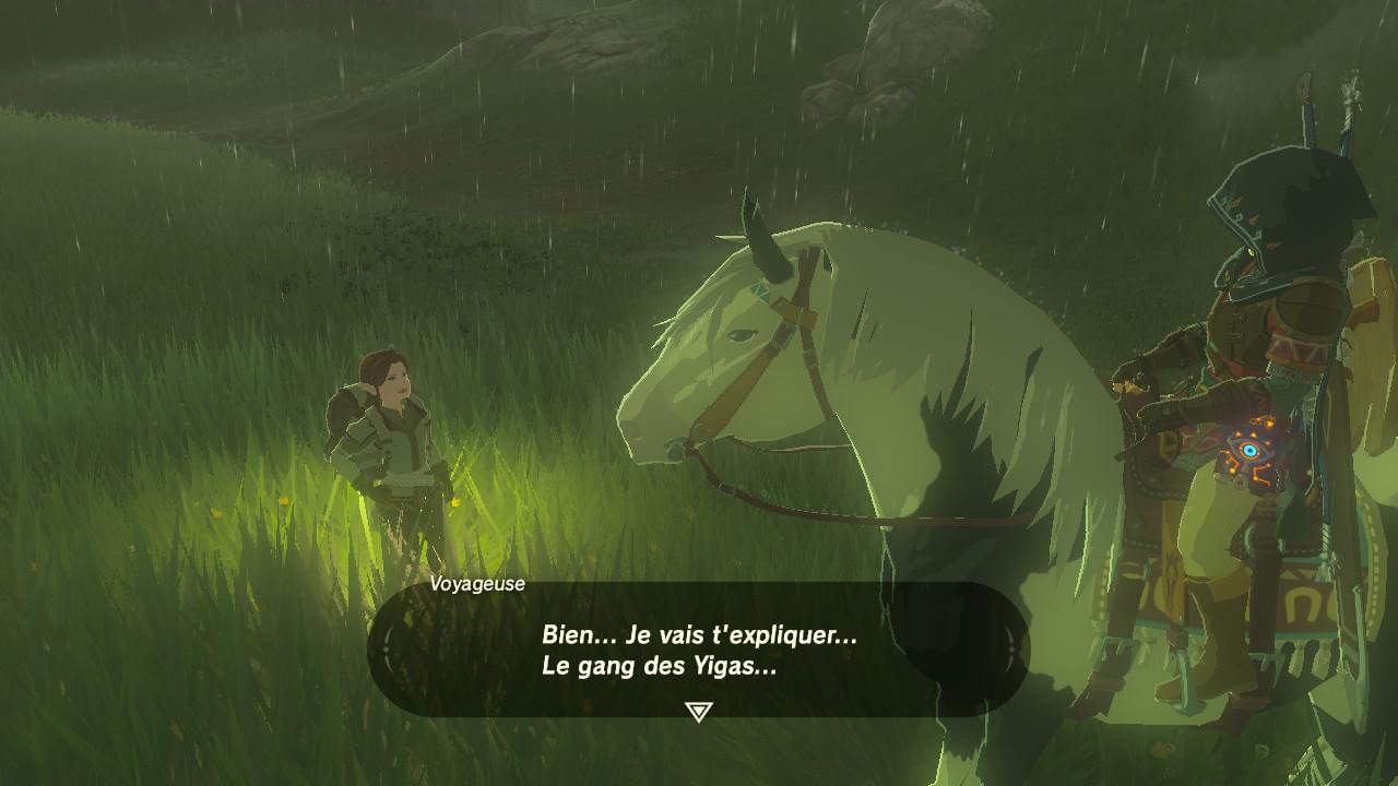 The Legend Of Zelda : Breath Of The Wild - Aperçu d'une