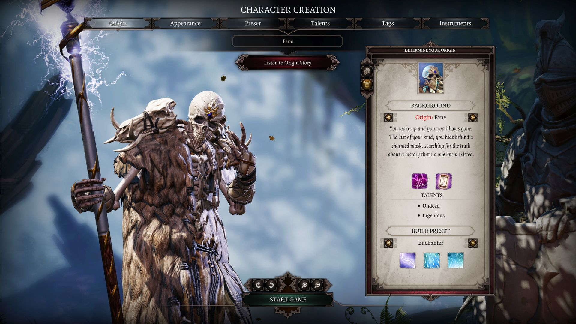 Divinity  Handed Build