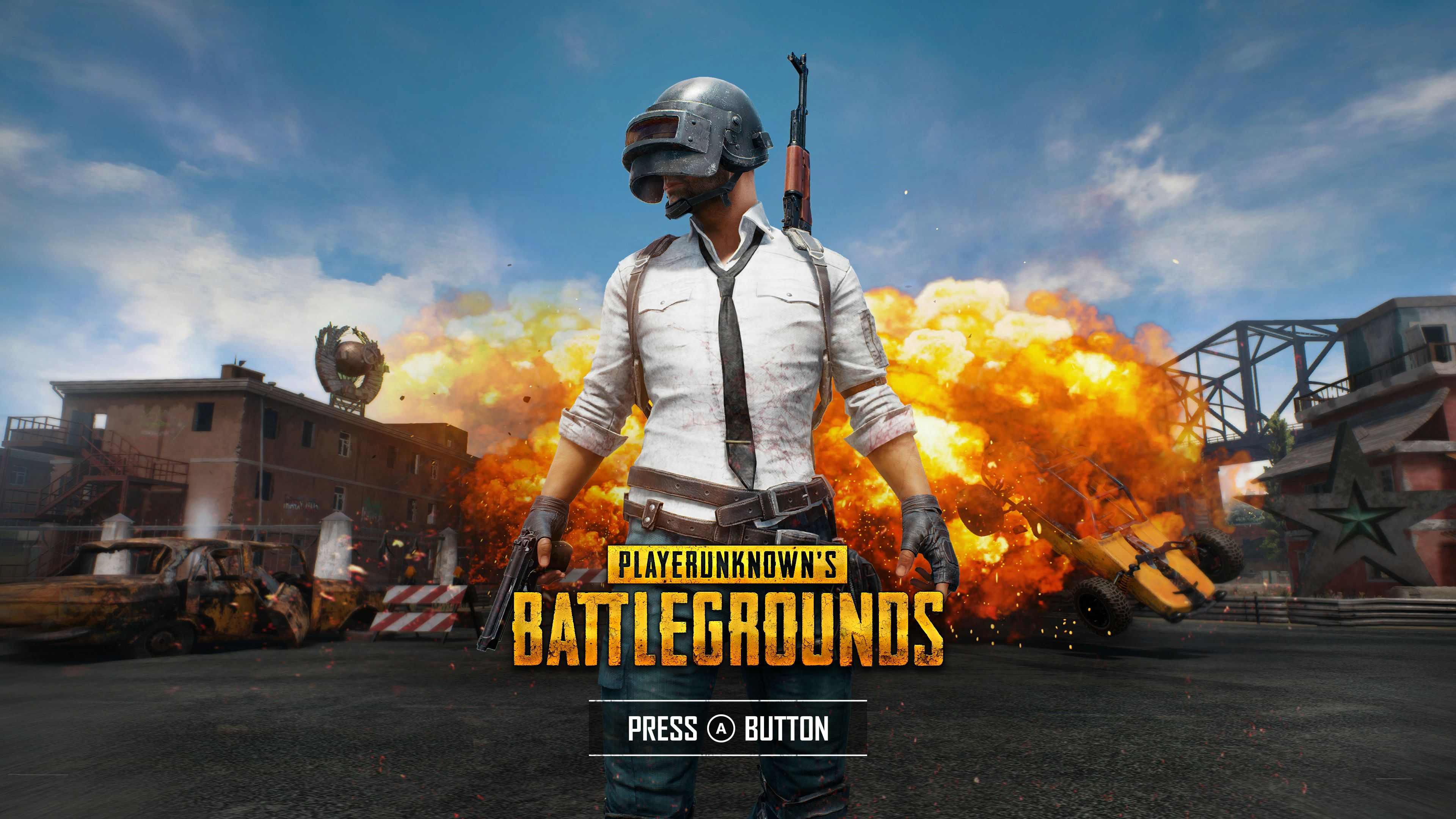 Wallpaper Playerunknown S Battlegrounds 2017 4k Games: Playerunknown's Battlegrounds