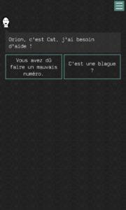 Somewhere : The Vault Papers – Un jeu d'aventure textuel sur mobile