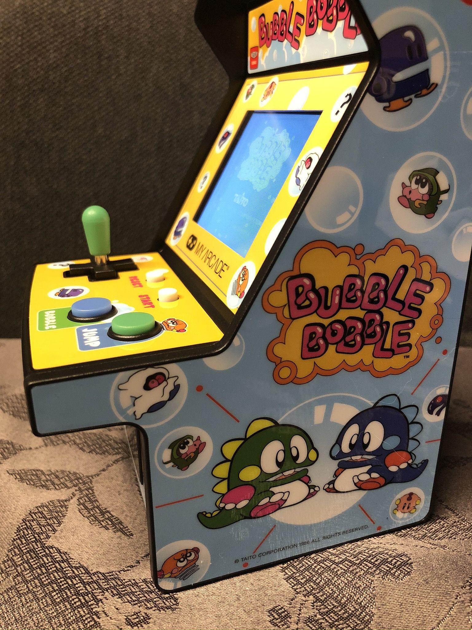 My Arcade Micro Player Bubble Bobble Game Guide